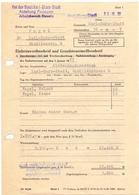 Brief Lettre Rehnung - Familie Vogel - Karl Marx Stadt - 1977 - Allemagne