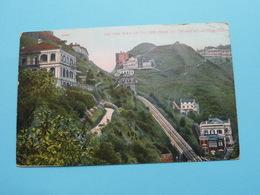 On The Way Up To The Peak By Tramway, Hongkong ( 20367 - Lau Ping Kee ) Anno 19?? > Antwerp ( Detail !! See Photo ) ! - Chine (Hong Kong)