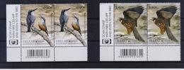 GREECE STAMPS 2019/EUROPA 2019 WILD BIRDS/PAIR FROM SHEETLETS-  9/5/19-MNH-COMPLETE SET - Águilas & Aves De Presa
