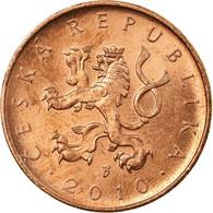 Monnaie, République Tchèque, 10 Korun, 2010, TTB, Copper Plated Steel, KM:4 - Repubblica Ceca
