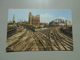 ANGLETERRE NORTHUMBERLAND RAILWAY CROSSING  LOCOMOTIVE - Newcastle-upon-Tyne