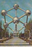 Cp , BELGIQUE , BRUXELLES , ATOMIUM - Monuments, édifices