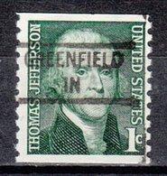 USA Precancel Vorausentwertung Preo, Locals Indiana, Greenfield 841 - Vereinigte Staaten