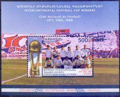 Used Armenia 2018, Uruguay 3x Winner Of Intercontinental Cup S/S. - Armenia