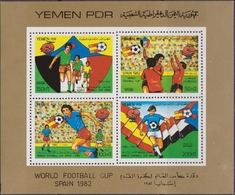 Yemen 1982 - World Cup Football Set MNH - Yemen