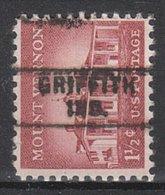 USA Precancel Vorausentwertung Preo, Locals Indiana, Griffith 729 - Vorausentwertungen