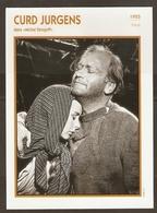 PORTRAIT DE STAR 1955 ITALIE ITALIA ITALY - ACTEUR CURD JURGENS MICHEL STROGOFF - ACTOR CINEMA - Fotos