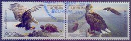 Used Armenia - Nagorno Karabakh Artsakh 2019, Europa.Eagles 2V. - Armenia