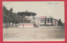 Ciney - La Place - Kiosque -1909 ( Voir Verso ) - Ciney