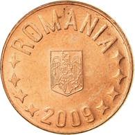 Monnaie, Roumanie, 5 Bani, 2009, Bucharest, TTB, Copper Plated Steel, KM:190 - Romania