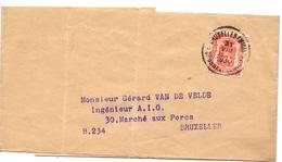 Wikkel Dagblad  - Stempel Cachet  Bruxelles Midi 1939 - Stamped Stationery