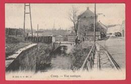 Ciney - Vue Rustique ... Ruisseau -1906 ( Voir Verso ) - Ciney
