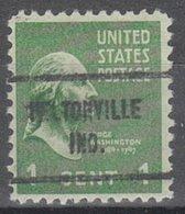 USA Precancel Vorausentwertung Preo, Locals Indiana, Heltonville 713 - United States