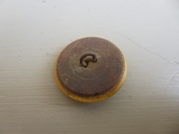 Bouton De Vénerie - Equipage Chevreuil - Diamètre 26 Mm - Courrier Ordinaire - Boutons