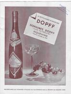 """68  - RIQUEWIRHR -  VIN ALSACE - Domaine DOPFF - """" Clos Du Moulin """" - - Alcools"""