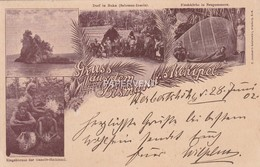 German New Guinea Gruss Aus Bismarck Archipel Post Used 1902 Opi16 - Papua New Guinea