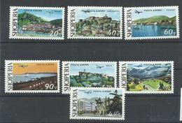 ALBANIA YVERT  AEREO 68/74  MNH  ** - Albania