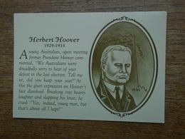 Herbert Hoover - Présidents