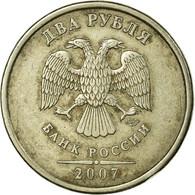 Monnaie, Russie, 2 Roubles, 2007, Saint-Petersburg, TB+, Copper-Nickel-Zinc - Russie
