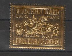 Cameroun 1969 Timbre Or PA 137 Napoléon Bonaparte ** MNH - Cameroon (1960-...)