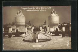 AK Paris, Exposition Des Arts Décoratifs 1925, Jardin Du Pavillon De Sèvres - Esposizioni