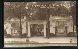 AK Paris, Exposition Des Arts Décoratifs 1925, Pavillon Des Tabacs - Expositions