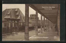 AK Paris, Exposition Des Arts Décoratifs 1925, Les Galeries De Plumet - Expositions
