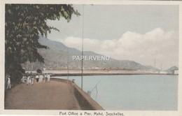 Seychelles  MAHE  Post Office & Pier Scs106 - Seychelles