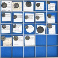 Antike: Eine Außergewöhnliche Sammlung Von Ca. 130 Silber- Und Bronzemünzen Aus Der Zeit Der Römisch - Antiche