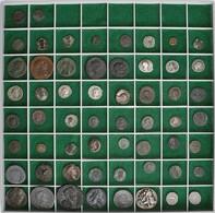 Antike: Lot Von Insgesamt 58 Antiken Silber- Und Bronzemünzen, Meist Römische Kaiserzeit, U. A. Dabe - Antiche
