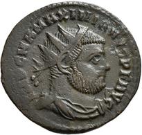 Antike: 48 Bronzemünzen Aus Der Römischen Kaiserzeit; Antoniniane (z.B. Maximianus, Probus), Æ Folli - Antiche