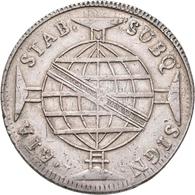 Brasilien: Lot 3 Stück; 960 Reis 1816, 2000 Reis 1857, 2000 Reis 1889, Sehr Schön-vorzüglich, Vorzüg - Brazil