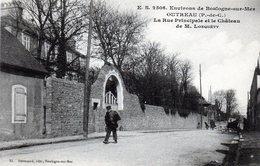 Outreau - La Rue Principale Et Le Château De M. Lonquéty - France