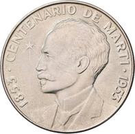 Kuba: Lot 4 Stück; Peso 1915, 1934, 1934, 1953, Sehr Schön-vorzüglich, Vorzüglich, Stempelglanz. - Cuba