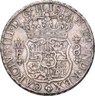 Mexiko: Carlos III. 1759-1788: 8 Reales 1768, 27,10 G, Sehr Schön. - Mexiko