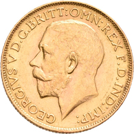 Südafrika - Anlagegold: George V. 1910-1936: Sovereign (Pound) 1925 SA, KM# 21, Friedberg 5. 7,98 G, - South Africa