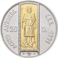 Andorra: Lot 3 Münzen: 20 Diners/ECU 1994 Peter III. Von Catalonien Und Aragon (KM# 100); 20 Diners/ - Andorra