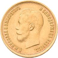 Russland - Anlagegold: Nikolaus II. 1894-1917: 10 Rubel 1899 (ЗБ - Elikum Babayantz), KM Y# 64, Frie - Russia