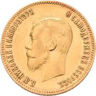 Russland - Anlagegold: Nikolaus II. 1894-1917: 10 Rubel 1903 (AR - Alexander Redko). KM Y# 64, Fried - Russia