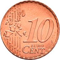 Deutschland: 10 Cents 2002 D; Fehlprägung/Materialverwechslung, Auf Kupfer-/Stahlronde Des 2 Centsst - Germania