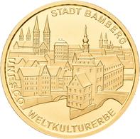 Deutschland - Anlagegold: 100 Euro 2004 Bamberg (A - Berlin), In Originalkapsel Und Etui, Mit Zertif - Germania