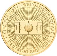 Deutschland - Anlagegold: 100 Euro 2005 Fußball WM 2006 In Deutschland (A - Berlin), In Originalkaps - Germania
