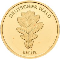 Deutschland - Anlagegold: 2 X 20 Euro 2010 Eiche (F,J) Serie Deutscher Wald. In Original Kapsel, Mit - Germania