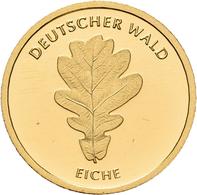 Deutschland - Anlagegold: 20 Euro 2010 Eiche (J - Hamburg). Serie Deutscher Wald. Jaeger 552. 3,89 G - Germania