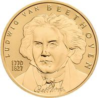 Österreich - Anlagegold: 50 Euro 2005 Grosse Komponisten - Ludwig Van Beethoven. KM# 3118, Friedberg - Austria