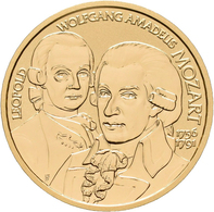 Österreich - Anlagegold: 50 Euro 2006 Grosse Komponisten - Wolfgang Amadeus Mozart. KM# 3130, Friedb - Austria