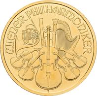 Österreich - Anlagegold: 100 Euro 2009 Wiener Philharmoniker. KM# 3095, Friedberg B5. 31,11 G (1 OZ) - Austria