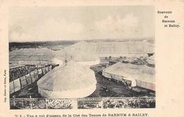 Nr6 Vue à Vol D'oiseau De La Cité Des Tentes De  Barnum & Bailey - Cirque