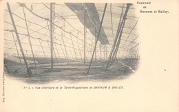 Nr 5 Vue Intérieur De La Tente-Hippodrome De  Barnum & Bailey - Cirque