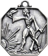 Medaillen Deutschland: Göppingen A.d. Steige: Lot 3 Stück; Achteckige Bronze-Klippe (von A. Feuerle) - Germany